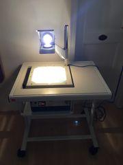 Overheadprojektor Demolux NV im Projektionstisch