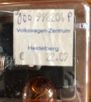 VW Golf original Lampensatz