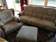 Verkauf einer Sitzgruppe Couch Sessel