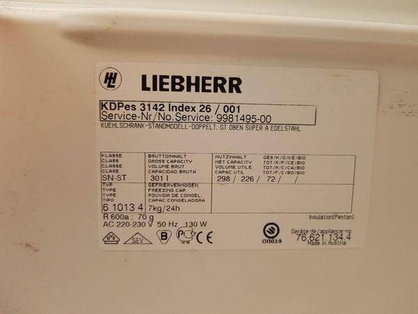Bosch Kühlschrank Doppelt : Kühlschrank kühl gefrierkombination in mannheim kühl und