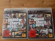 PS 3 Spiele grand theft