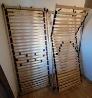 2x Lattenrost 80x200cm Kopf- und
