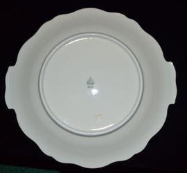 Glas, Porzellan antiquarisch - Kuchenplatte Zeh Scherzer