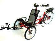 Fahrrad Tandem Lastenrad Liegerad