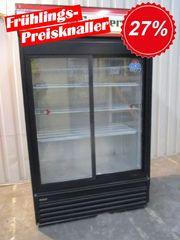 PREISKNALLER Getränkekühlschrank mit Werbedisplay steckerfertig