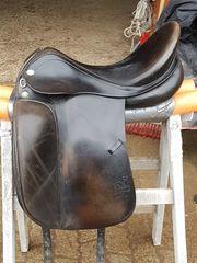 Dressursattel Prestige Appaloosa Leder dunkelbraun