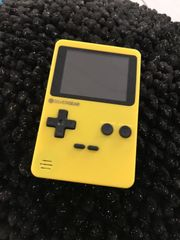 Gamekonsole gelb