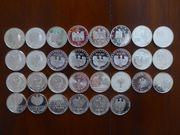 30 x 10EUR aus Polierte Platte