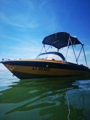 Motorboot mit Bodenseezulassung bis 2021