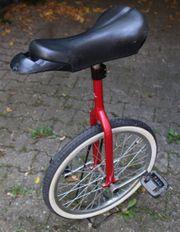 Einrad - rot - 20 Zoll - gebraucht -