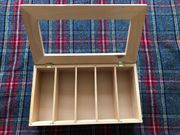 Teebox mit 5 Fächern