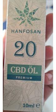 CBD Hanföl premium 20 10ml