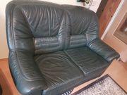 Echtleder 2 Sitzer Couch