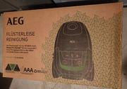 AEG Staubsauger hat Garantie