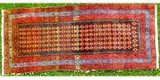 Orientteppich 100 J alt 268x120
