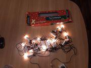Lichterkette mit 20 Kerzen