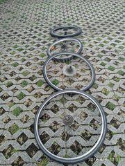 Räder Fahrrad mit Felge es