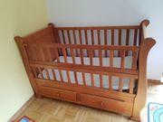 Babybett Kinderbett handgefertigt aus Chile