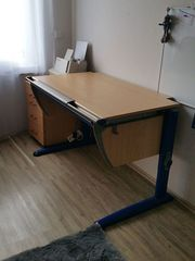 MOLL Schreibtisch für Kinder mitwachsender