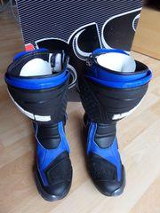 Motorradstiefel IXS Estoril Black Blue