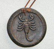 Keramik Relief Sternzeichen Skorpion