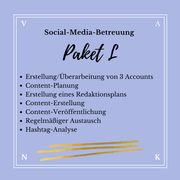 Social Media Betreuung - Virtuelle Assistentin