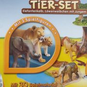 Tiptoi Tiee-Set Elefantenkalb Löwenweibchen mit