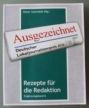 Ausgezeichnet Deutscher Lokaljournalistenpreis 2010 der