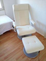 Massagesessel Weiß