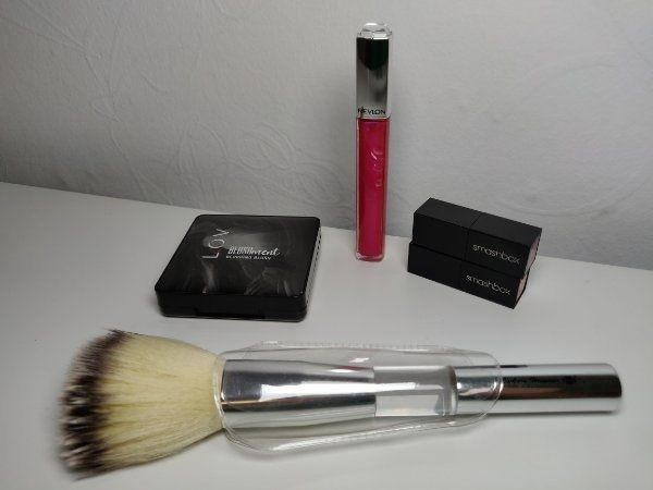 MakeupSet Pinsel Blush Lippgloss Lippenstift