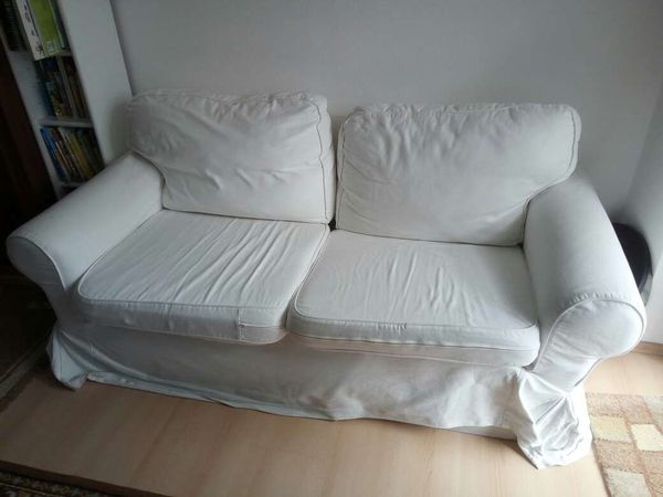 Ikea Ektorp Sofa Zweisitzer Weiß Gebraucht In Puchheim Polster