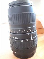 SIGMA-Wechselobjektiv 100 - 300 mm für