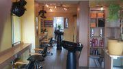 Friseursalon Laden 5 Plätze zu
