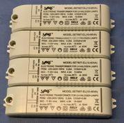 1x eletronischer Transformator 12V 60W