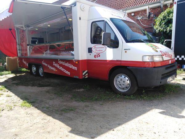 Verkaufsfahrzeug Verkaufsanhänger Verkaufswagen