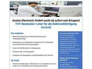 THT-Bestücker THT-Löter für die Elektronikfertigung