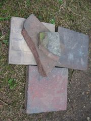 Suche gebrauchte Pflasterklinker rotblaubunt Altstadtpflaster