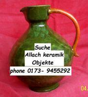 Allach Ton Keramik Porzellan Ankauf