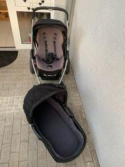 Kinderwagen 3in1 Babywanne Buggy Maxi