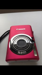 Pink Canon IXUS 95 IS