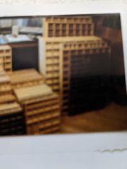 48 Holzsetzkasten in verschiedene Größen