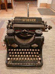 Kellerfund Stoewer Record Schreibmaschine Sammlerstück