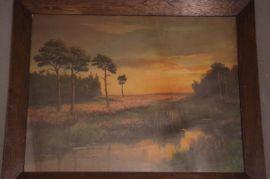 Kunst, Gemälde, Plastik - Großes Gemälde Öl auf Leinwand