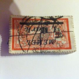 20 Briefmarken a 2 mark