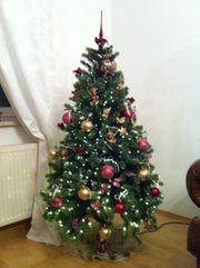 Künstlicher Weihnachtsbaum ca 160 cm