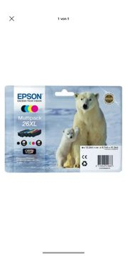 Original Epson Druckerpatrone 26XL Multipack