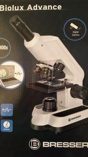 Mikroskop mit Anschluss an PC
