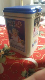 Blechdose Nestle