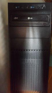 PC - Schwarzes Midi Gehäuse mit