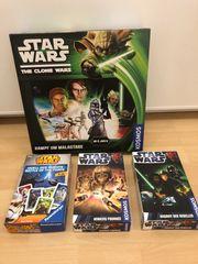 4 x Star Wars Kampf